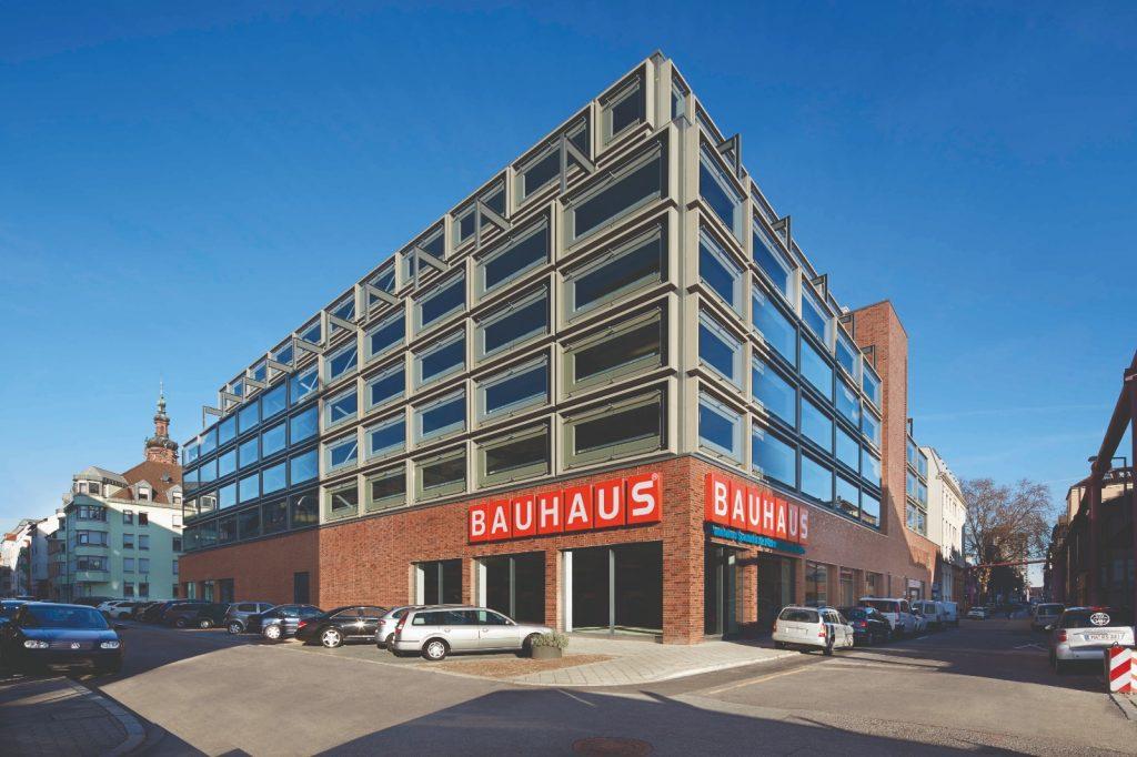 Projekt Mannheim, XXL-BAUHAUS-Parkhaus