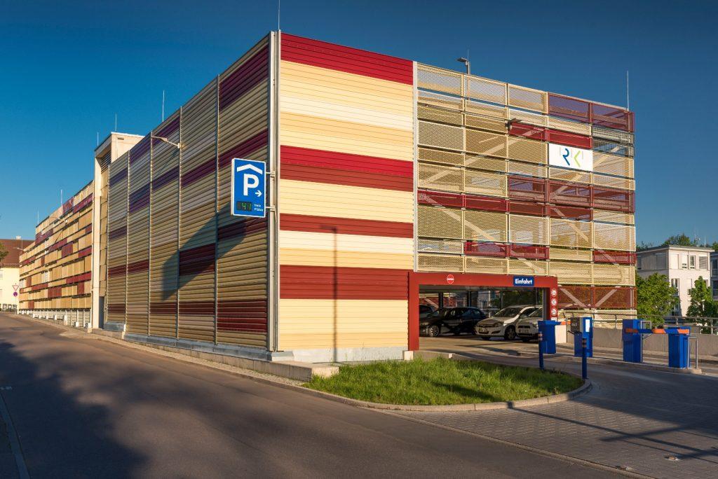 Projekt Bietigheim, Parkhaus am Krankenhaus