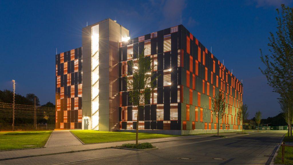 Projekt Bochum, Parkhaus Justizzentrum