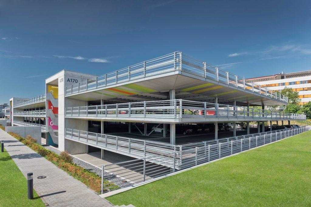 Projekt Darmstadt, Parkhaus Merck