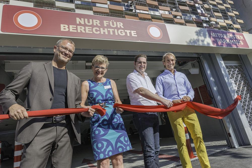 Am 23.07.2019 wurde das Parkhaus Klinik Kirchheim u. Teck feierlich eröffnet