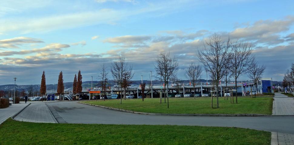 "Project Nuertingen, Hospital Car Park ""Auf dem Säer"""