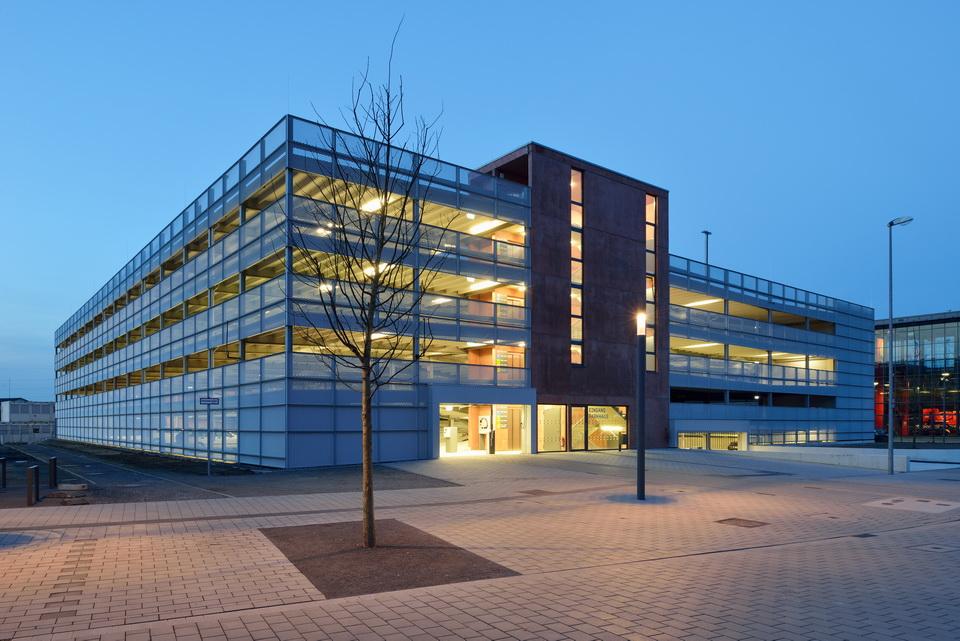 Projekt Mülheim/Ruhr, Parkhaus Hochschule Ruhr-West-Mülheim