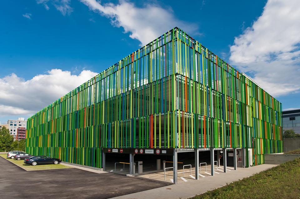 Projekt Aachen, Parkhaus Fraunhofer