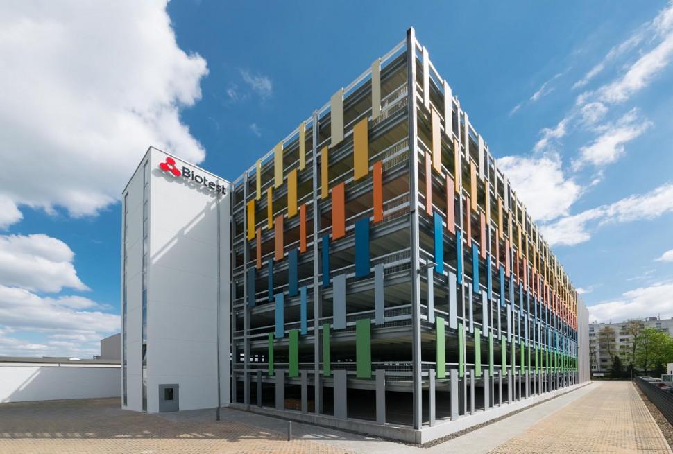 Projekt Dreieich, Parkhaus Biotest Pharma