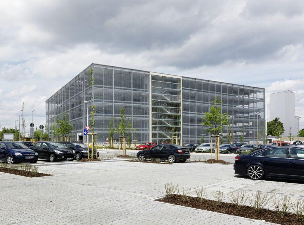 Projekte Erlangen, Parkhäuser Siemens PH 84 und PH 85