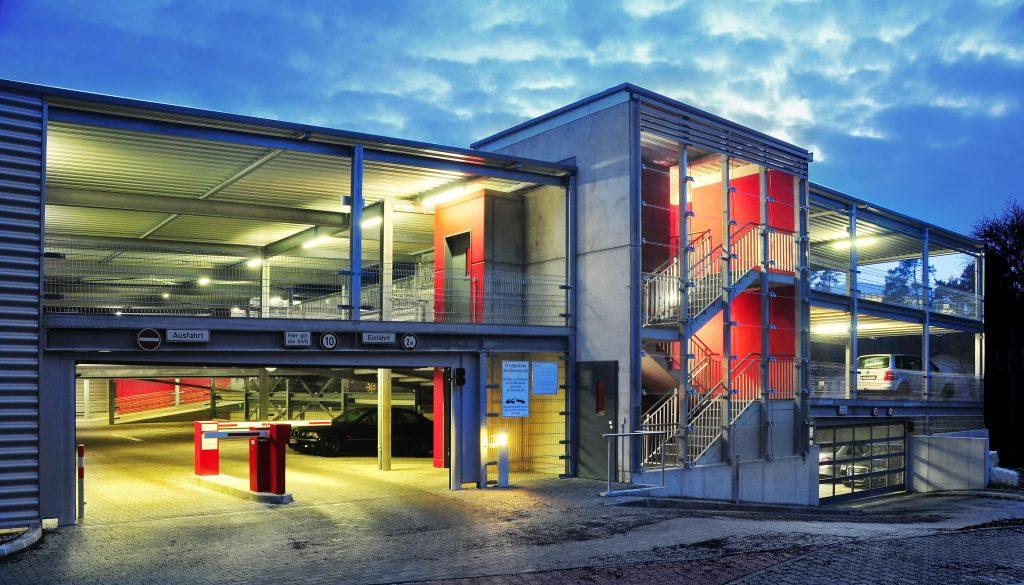 """Projekt Erlangen, Parkhaus Siemens """"Quartiersgarage"""""""