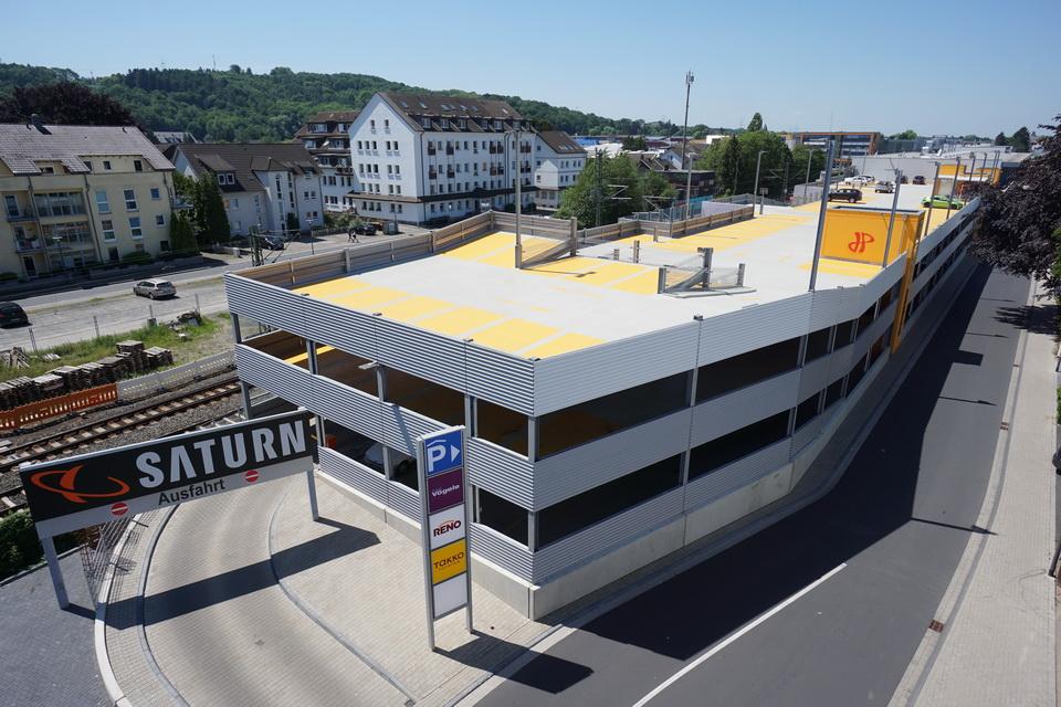 Projekt Hennef, Parkhaus Einkaufszentrum Alte Ladestraße