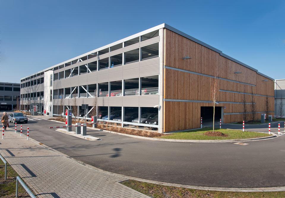 Projekt Hannover, Parkhäuser Hannover Congress Centrum