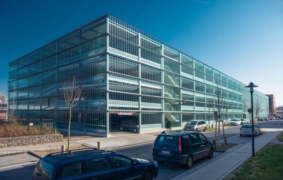 Projekt Hennef, Park+Ride-Parkhaus