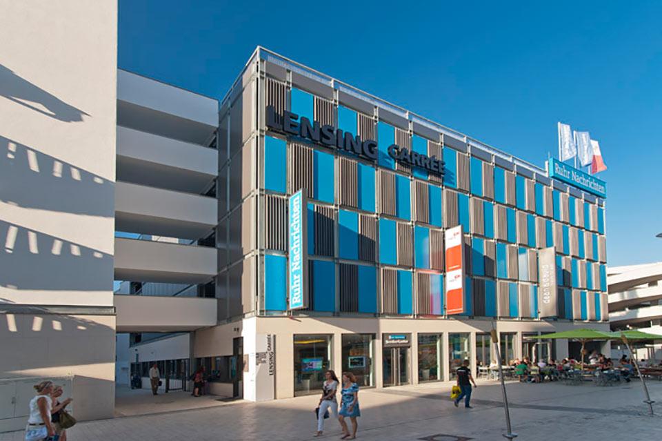 Projekt Dortmund, Parkhaus Lensing Carrée