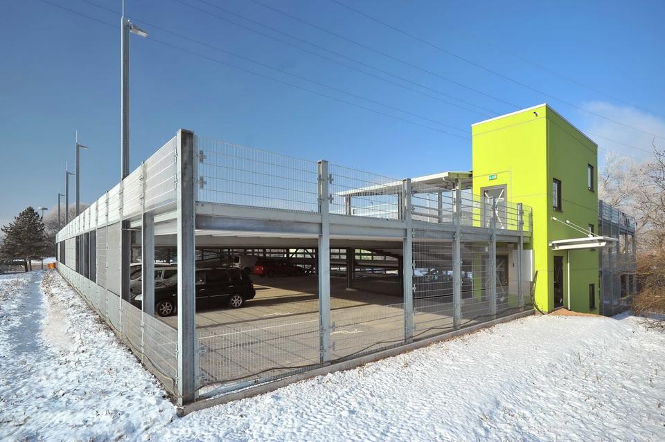 Projekt Mainz, Parkdeck Zentralklärwerk