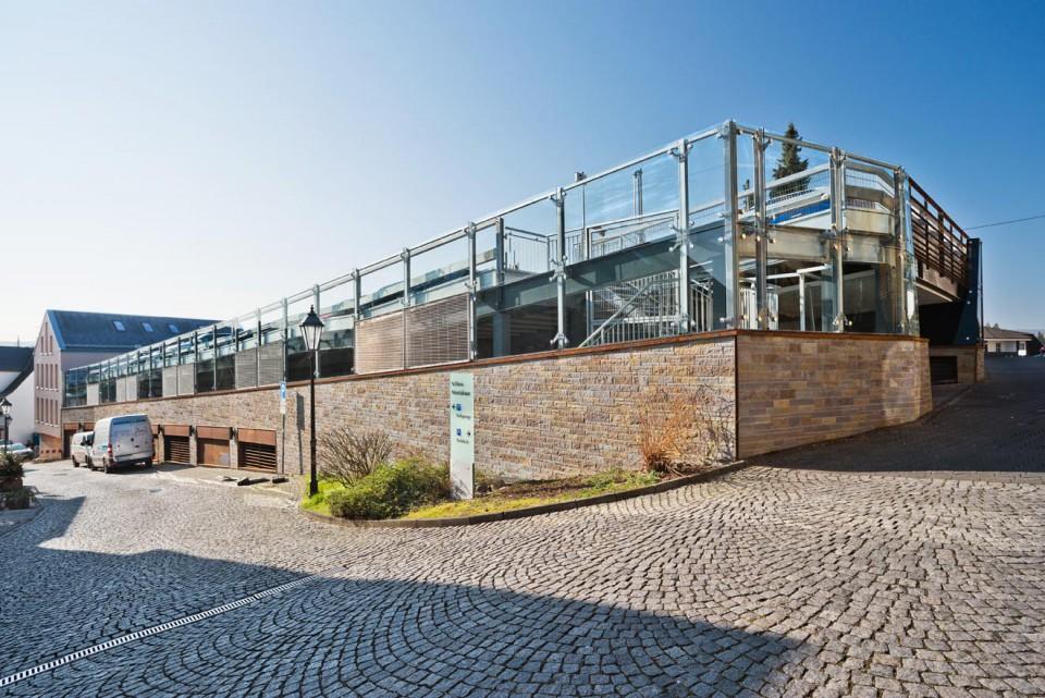Project Montabaur, Raising of Existing Castle Car Park
