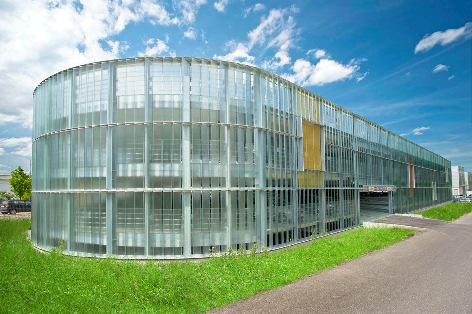 Projekt Neckarsulm, Parkhaus