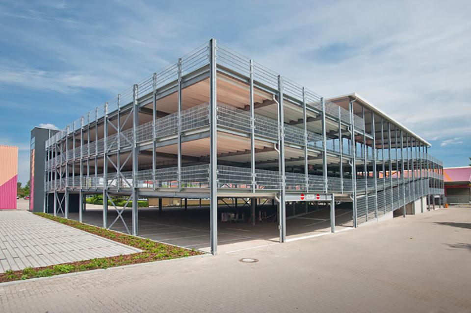 Projekt Bornheim (Pfalz), Parkhaus HORNBACH