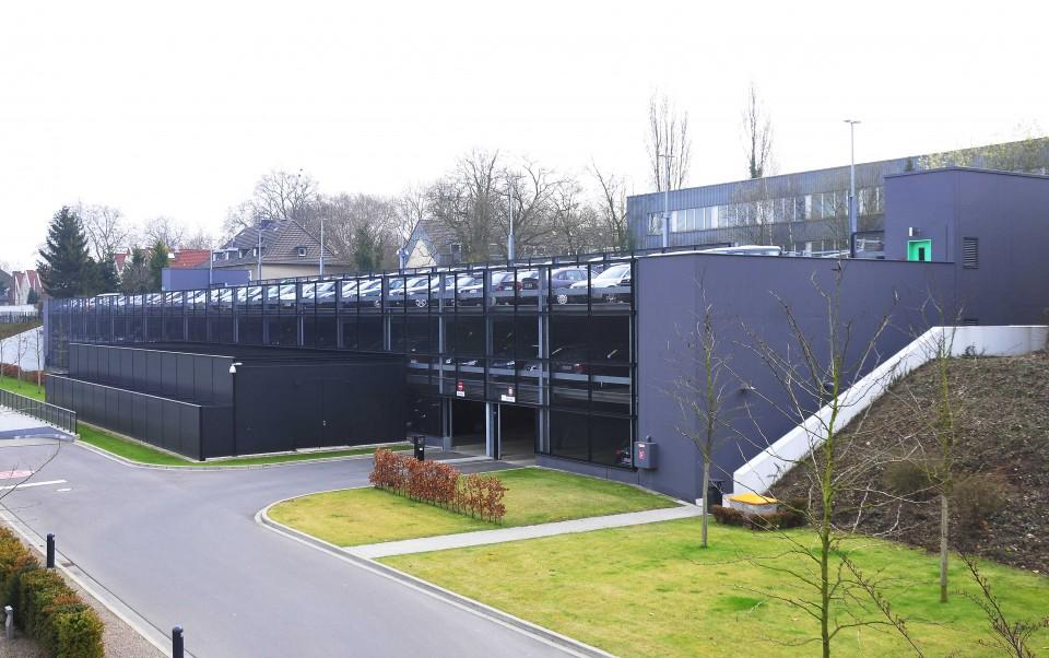 Projekt Mönchengladbach, Parkhaus CC Bank