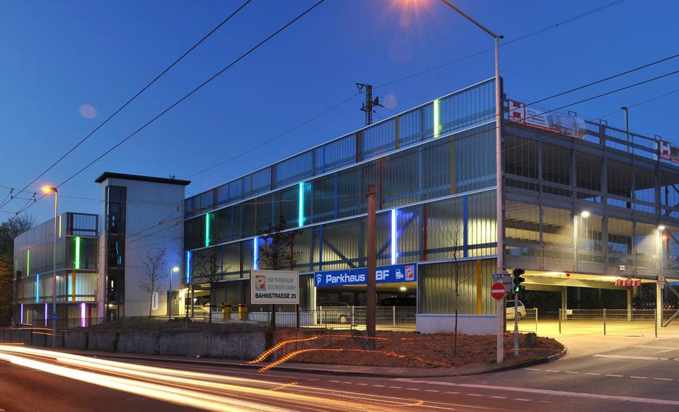 Projekt Solingen, Parkhaus Hauptbahnhof