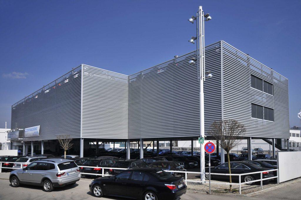 Projekt Starnberg, Parkhaus BMW-Autohaus