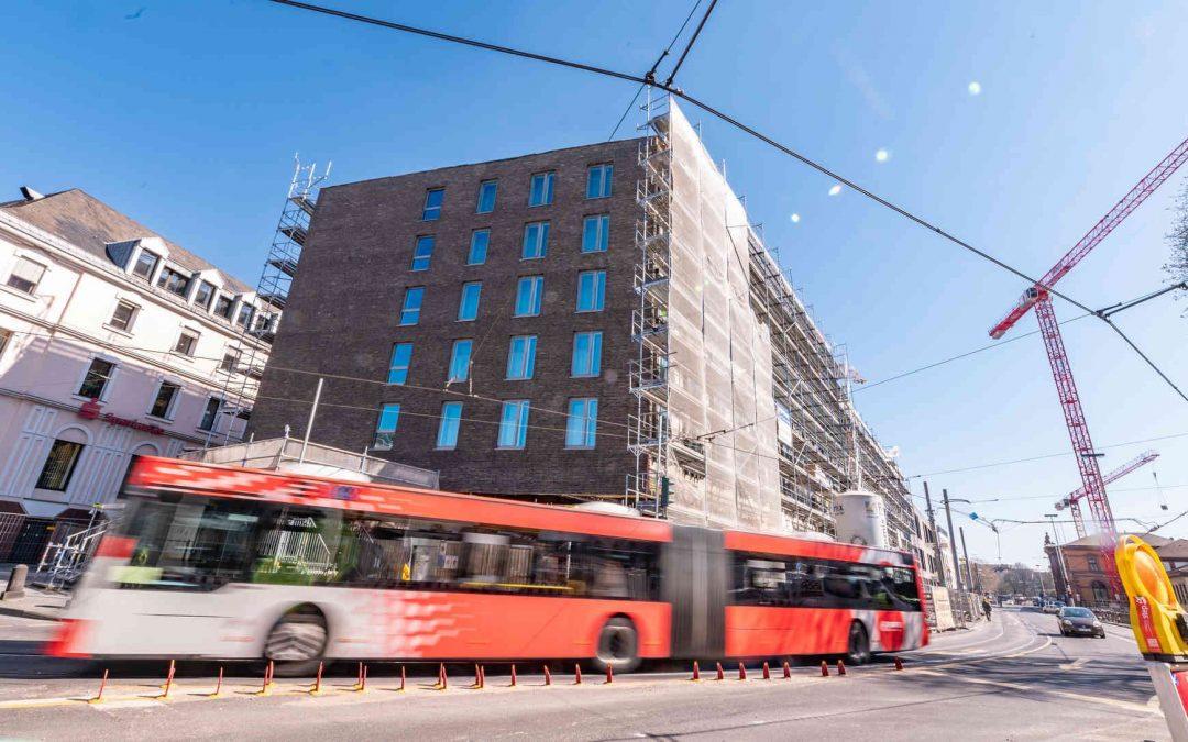 Urban-Soul-Pojekt in Bonn : Neues Parkhaus am Hauptbahnhof geht in Betrieb | General-Anzeiger Bonn vom 17.04.2020