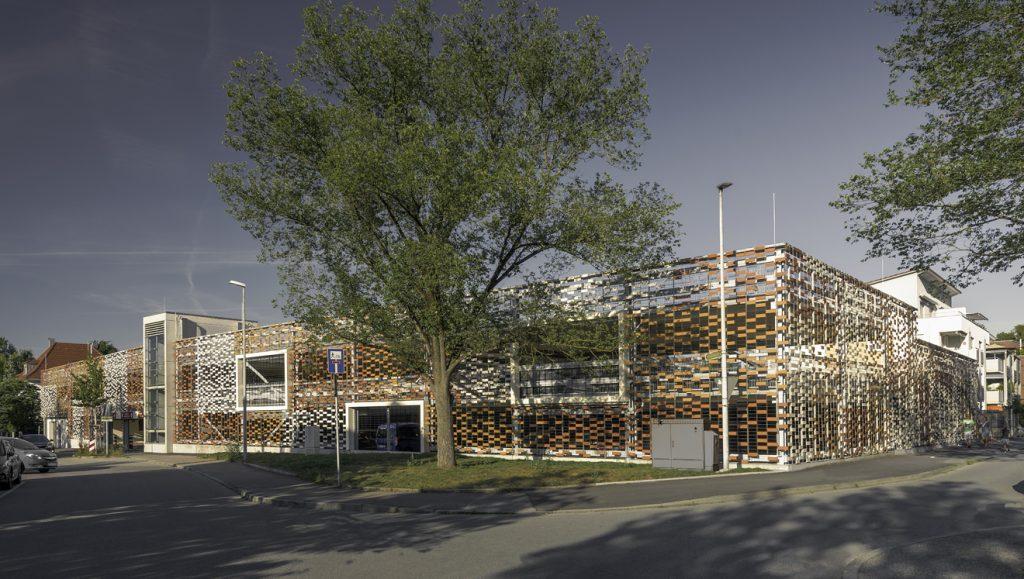 Projekt Kirchheim u.T., Mitarbeiterparkhaus