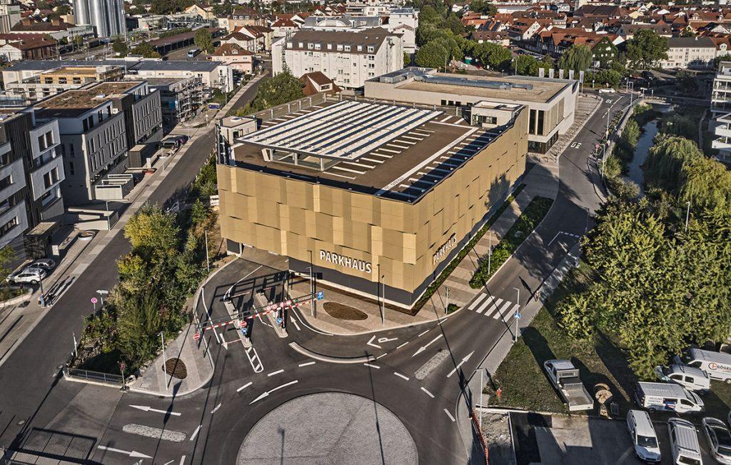 Projekt Sinsheim, Parkhaus Dr.-Sieber-Halle