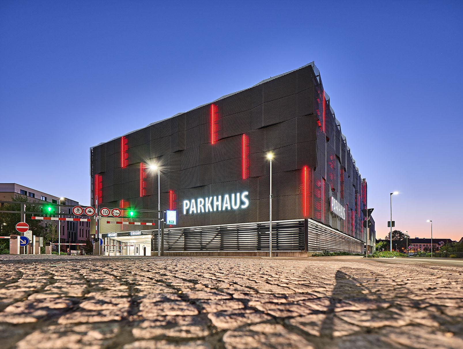 Parkhaus Dr. Sieber-Halle-Sinsheim
