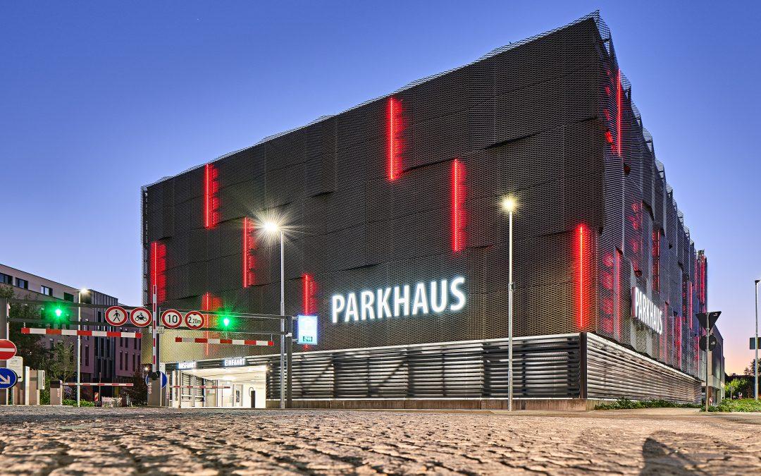 Neues Parkhaus Dr.-Sieber-Halle in Sinsheim in Parken aktuell | Ausgabe Nr. 119 November