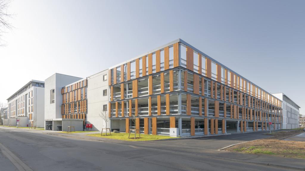 Projekt Darmstadt, Parkhaus Holzhofpark